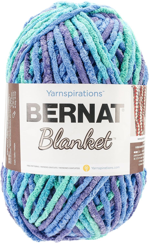 Amazoncom Bernat Blanket Yarn Ocean Shades Arts Crafts Sewing