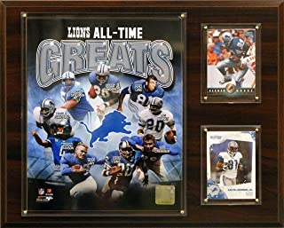 product image for NFL Detroit Lions All -Time Great Photo Plaque