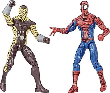 Spider-Man Marvel Legends and Shocker Figure, Pack de 2 ...
