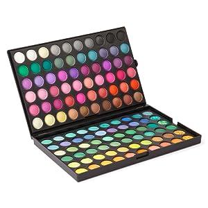 LaRoc Palette de maquillage professionnelle Fards ^ paupires 120 couleurs