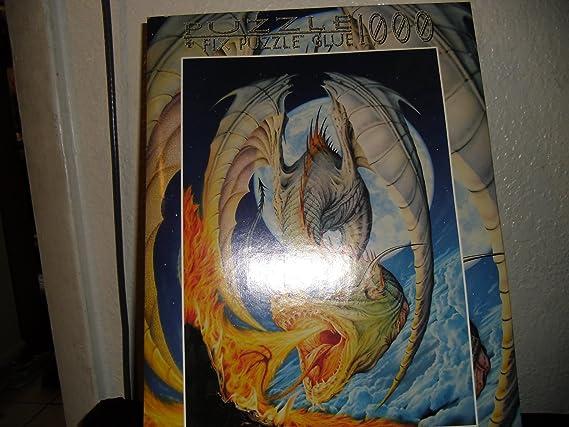 Dragon Attack 1000 Piece Puzzle by Dragon Squama fink /& company