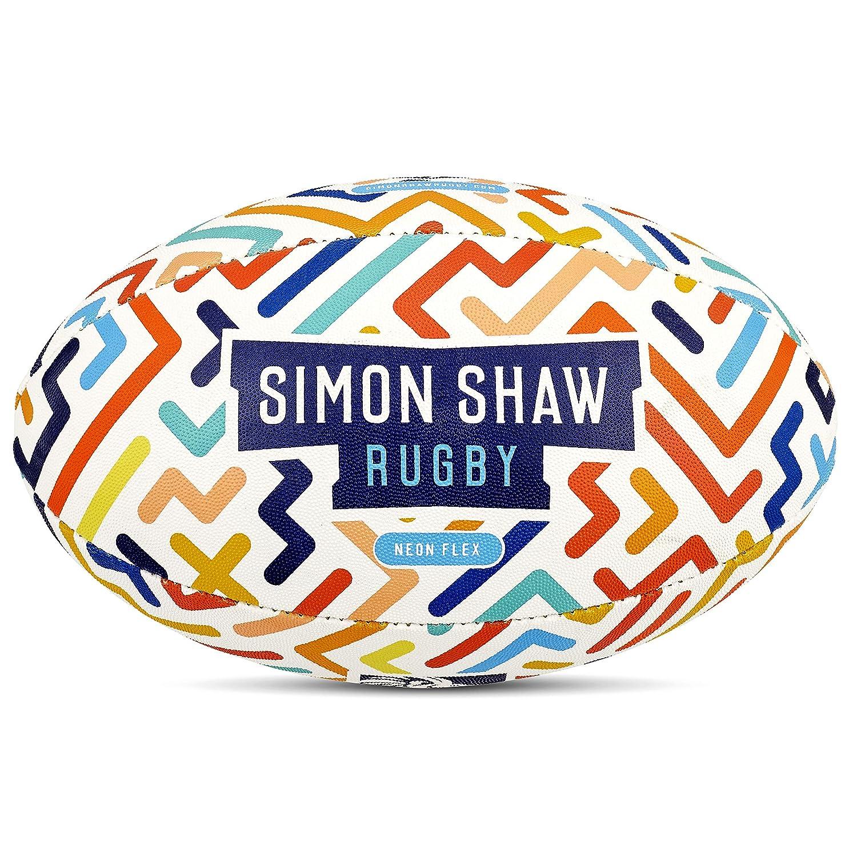 Talla 3 Bal/ón de Rugby para Rugby Simon Shaw