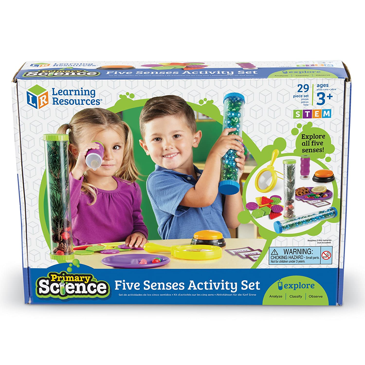 faf378863 Amazon.com: Learning Resources Primary Science Five Senses Activity Set:  Office Products