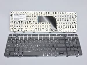 Replacement Keyboard for HP Pavilion dv6-7000 dv6-7100 Envy dv6-7200 dv6-7300 Series Laptop with Frame