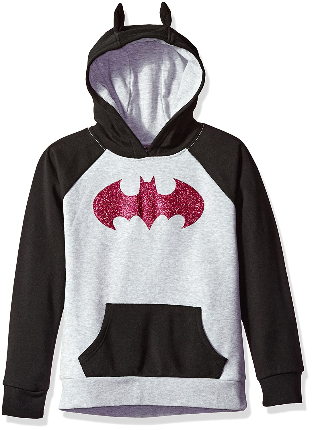 Warner Bros. Girls' Batgirl Cosplay Hoodie Jerry Leigh Character Apparel ST19405U1786B BLU