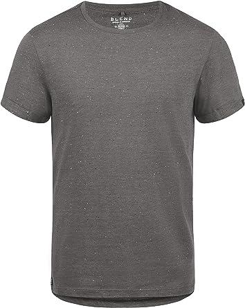 BLEND Napito Camiseta Básica De Manga Corta T-Shirt para Hombre con Cuello Redondo: Amazon.es: Ropa y accesorios