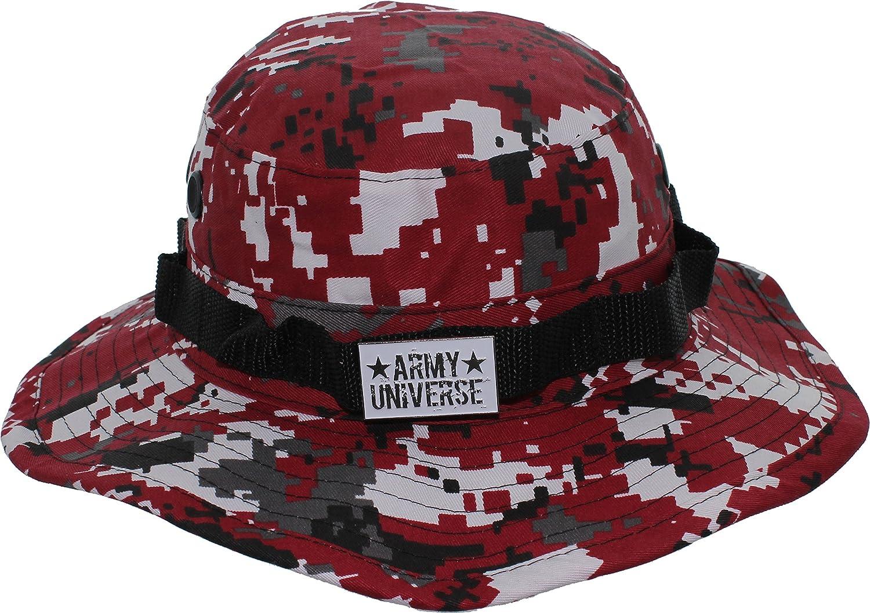 Army Universe Tactical Boonie Hat Military Camo Bucket Wide Brim Sun ... 5fea77f51f0