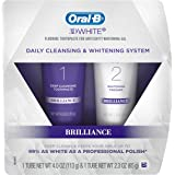 Oral-B 3D White Brilliance Toothpaste, Teeth Whitening and Deep Cleansing,113g and 65g Tubes