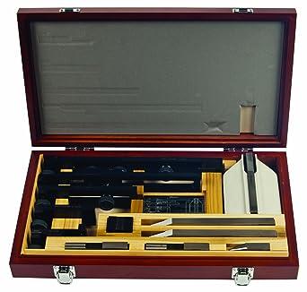 Mitutoyo 516 – 605 rectangular Gage Block accesorios, 13 piezas