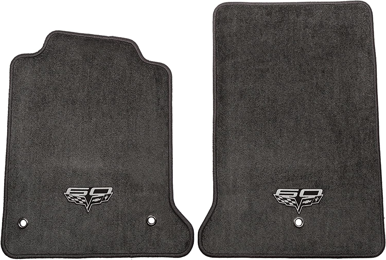 GM Accessories 17800403 Front Carpeted Floor Mats in Ebony with GMC Logo General Motors