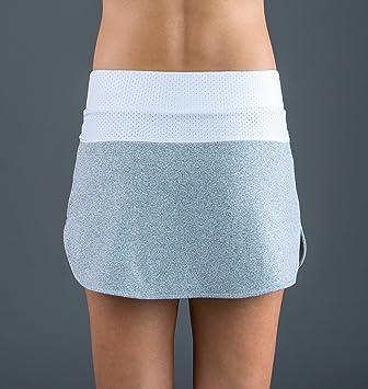 Endless 1000040300016 Falda de Tenis, Mujer, Gris, M: Amazon.es: Deportes y aire libre