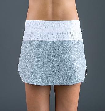 Endless 1000040300016 Falda de Tenis, Mujer, Gris, M: Amazon.es ...