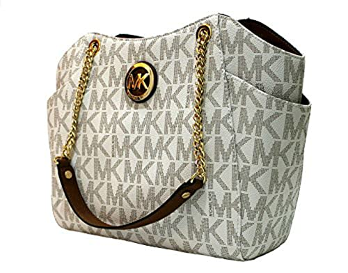 177e6d6352f0 Michael Kors LGCHAIN Tasche Vanilla Neu Handtasche: Amazon.co.uk: Shoes &  Bags