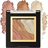 Milani Spotlight Face & Eye Strobe Palette - Sun Light (0.23 Ounce) Cruelty-Free Highlighter & Eyeshadow Compact - Shape…