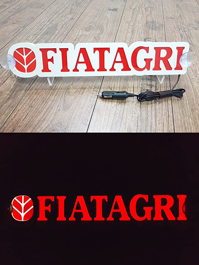 Other 3D 12 V LED para Conductores fiatagri Tractor Rojo ...