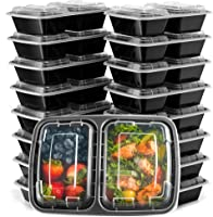 Ez Prepa [20 Pack] Meal Prep Containers with Lids - Food Storage Containers Bento & Amazon Best Sellers: Best Bulk Food Storage