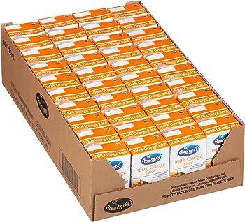 40-Pack Ocean Spray 4.2 oz 100% Orange Juice Box