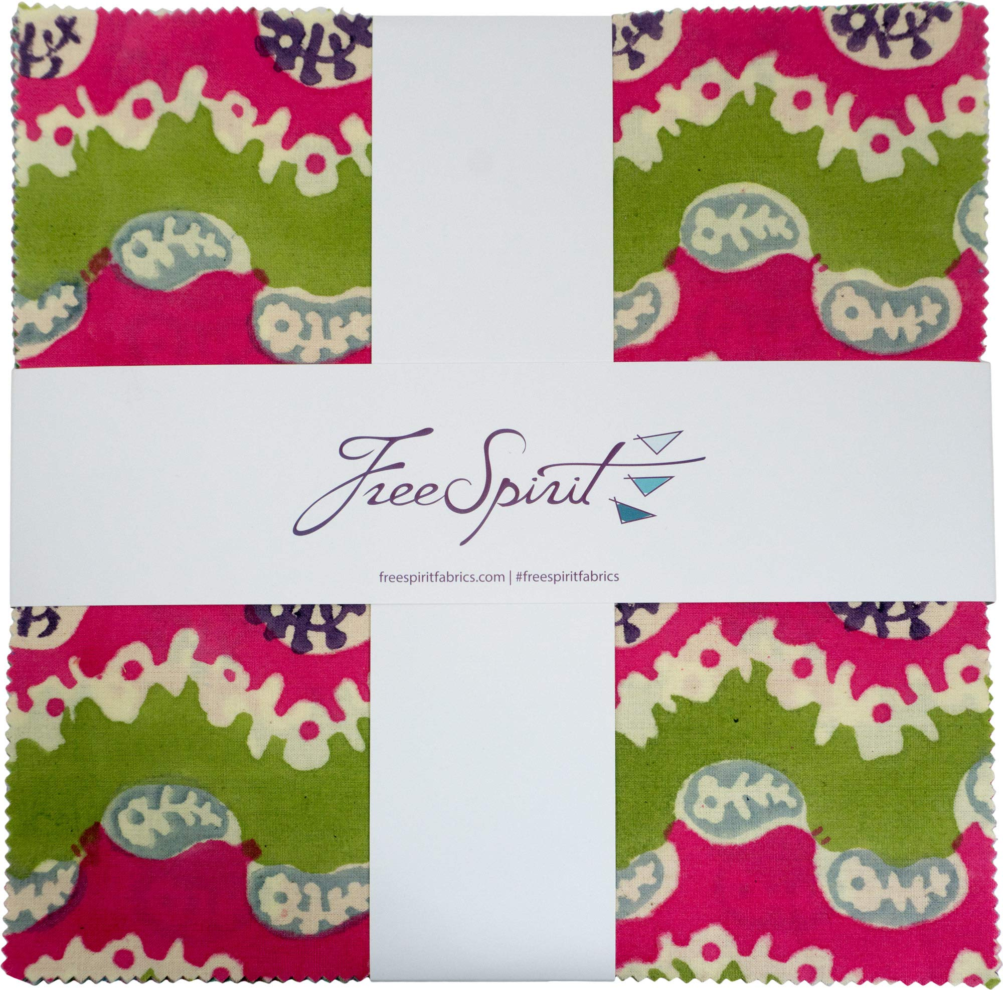 Kaffe Fassett Artisan Alto 10'' Squares 42 10-inch Squares Layer Cake FreeSpirit by Free Spirit Fabrics