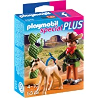 Playmobil 5373 Specials Plus Cowboy Toy with Foal