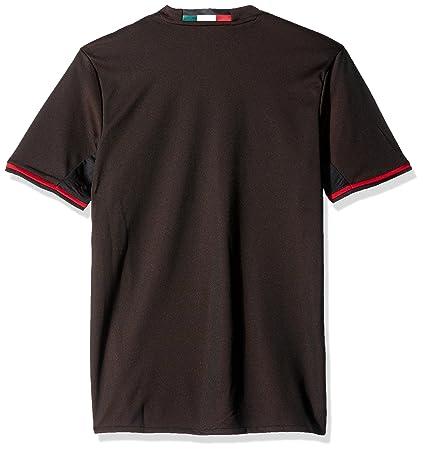 5dd30c1f52bb0 Amazon.com : International Soccer Ac Milan Men's Jersey, X-Small ...