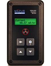 Mazur Instruments PRM-8000 Handheld Geiger Counter and Nuclear Radiation Monitor