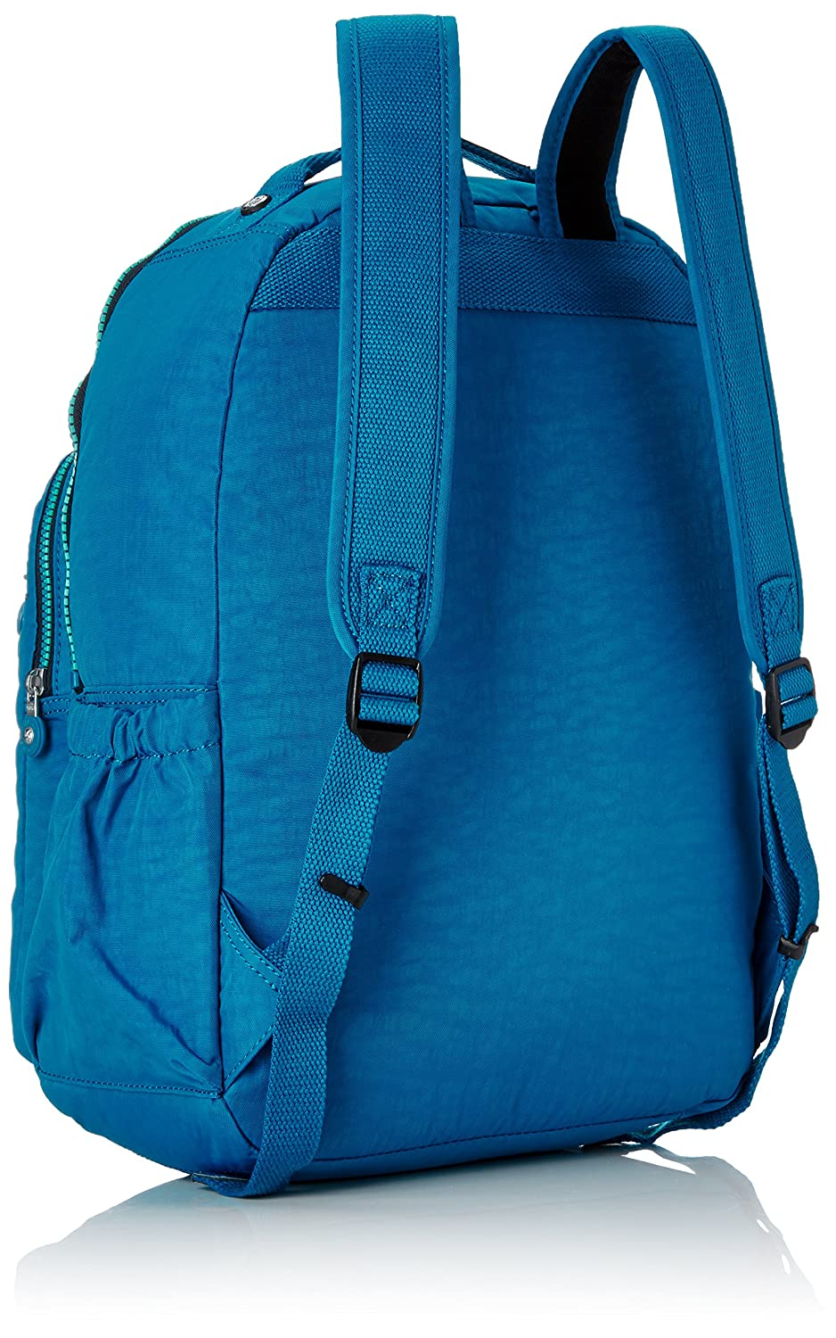Amazon.com: Kipling Seoul Up Large Backpack With Laptop Protection Blue Green Mix: The Necessity limited