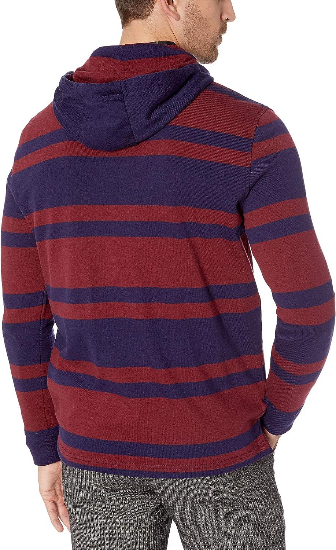 Tommy Hilfiger Mens Leonard Long Sleeve Rugby Stripe Sweatshirt Sweatshirts
