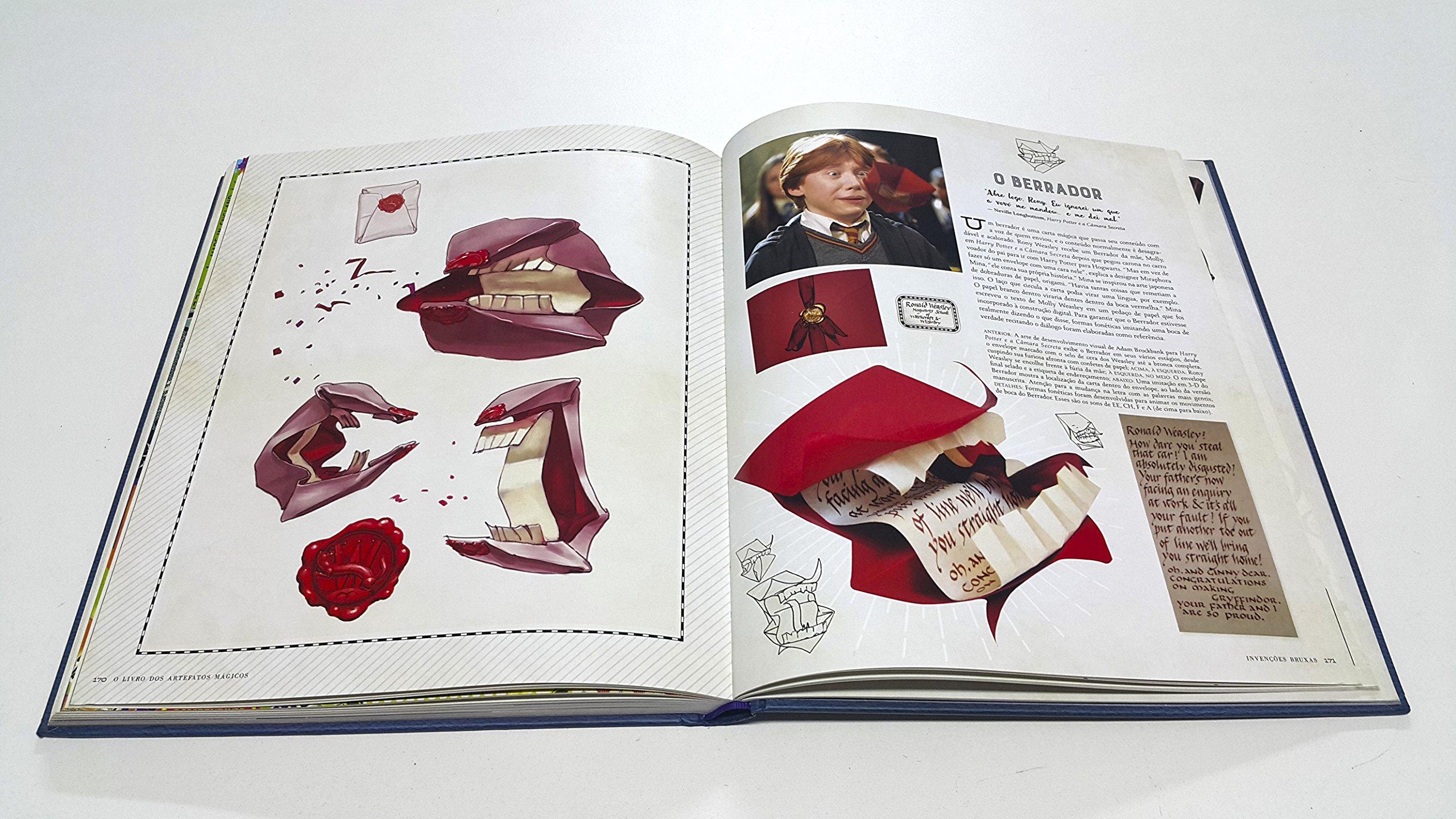 Harry Potter. O Livro dos Artefatos Mágicos (Em Portuguese ...