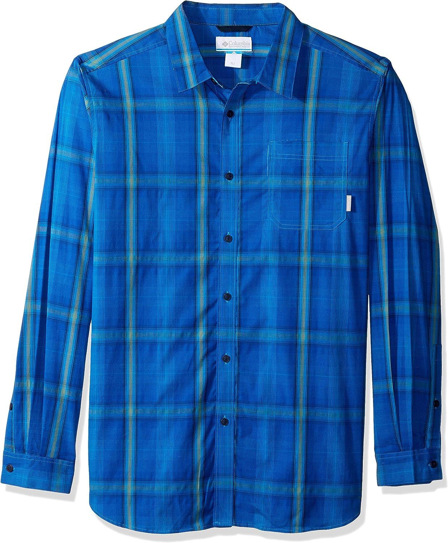Columbia Mens Big and Tall Vapor Ridge Iii Big /& Tall Long Sleeve Shirt