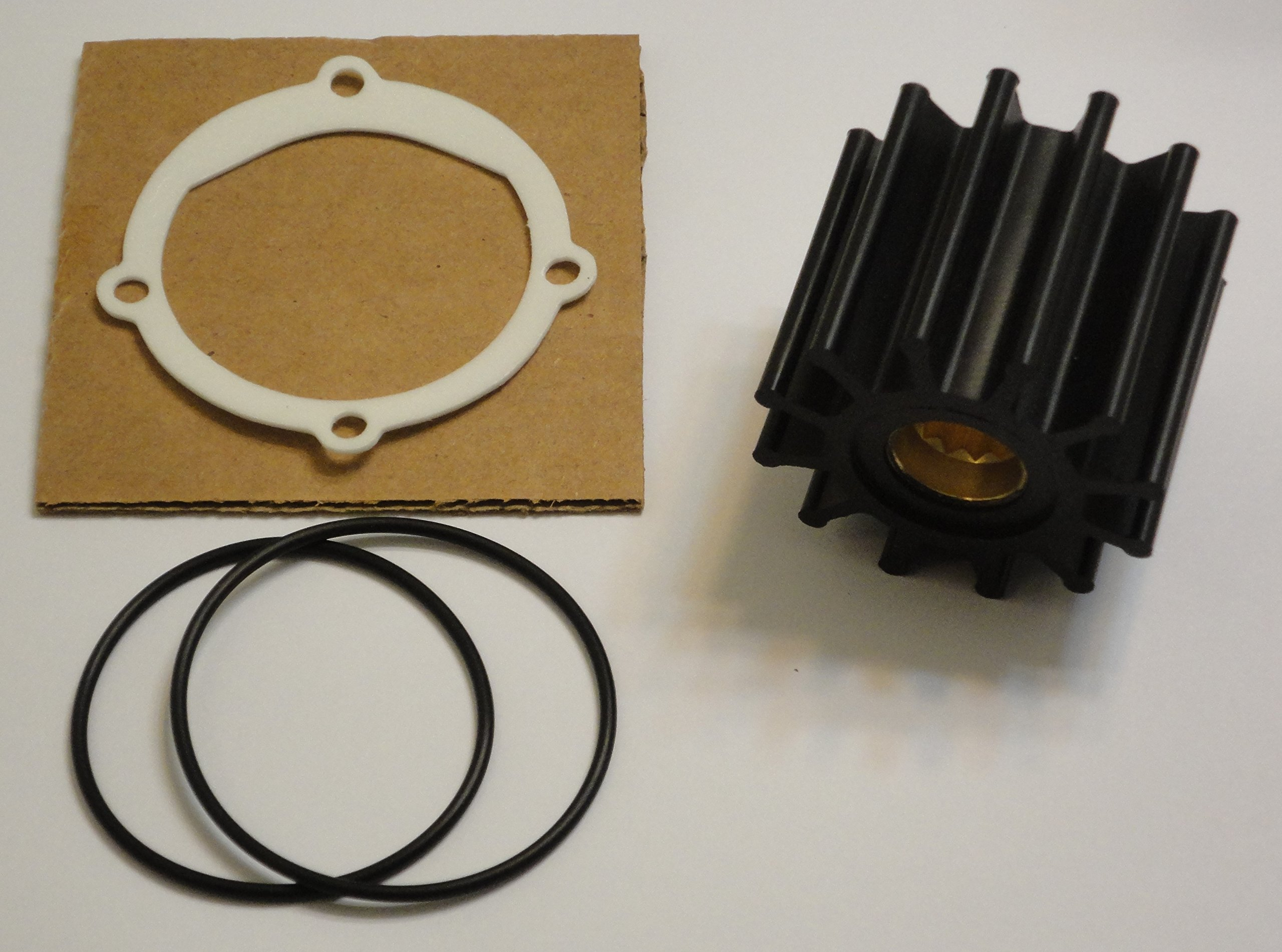 StayCoolPumps Impeller Kit Replaces Johnson 09-812B-1 Jabsco 13554-0001-P Sierra 18-3306 by StayCoolPumps