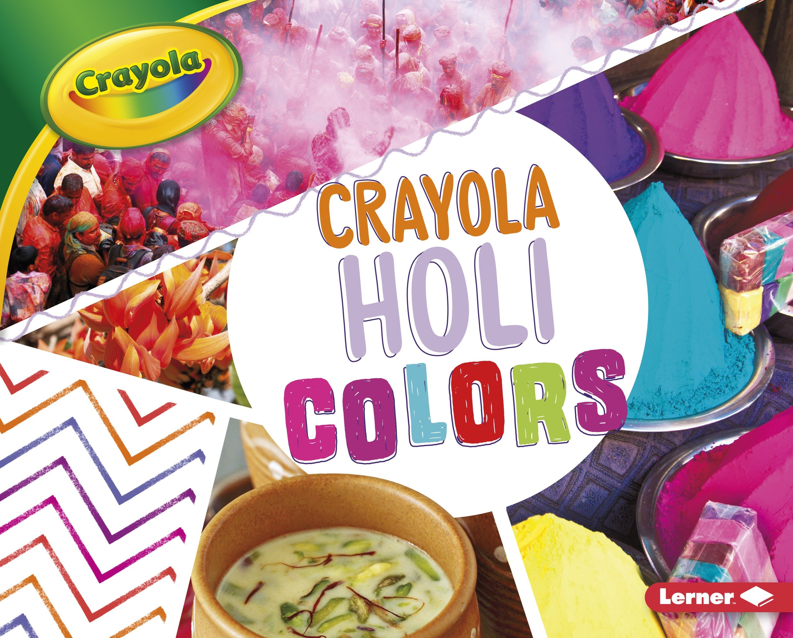 Crayola Holi Colors (Crayola Holiday Colors) by Lerner Pub Group (Image #1)