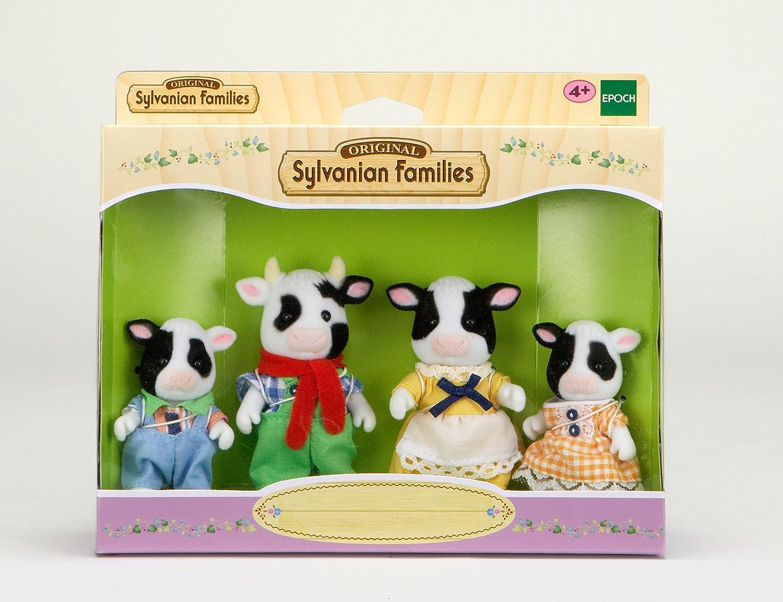 Amazon.es: Sylvanian Families 3555 - Muñecos, diseño de familia de vacas bretonas: Juguetes y juegos