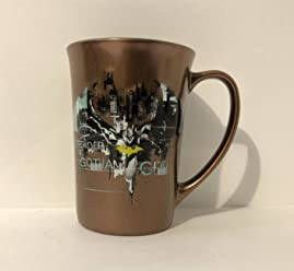 Six Flags Magic Mountain DC Comics Batman Defender of Gotham City Mug