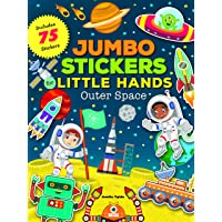 Outer Space (Jumbo Stickers Little Hands): Includes 75 Stickers