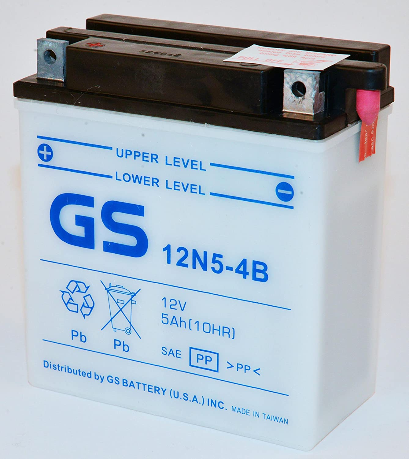 Honda Battery Warranty >> Premium Japanese Motorcycle Battery 12v 5ah For Honda Motorcycles From Gs Battery With 6 Month Warranty