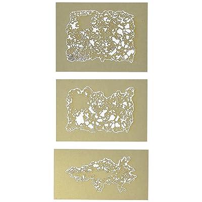 Iwata-Medea Artool Freehand Airbrush Templates, Texture Fx Mini Series: Toys & Games