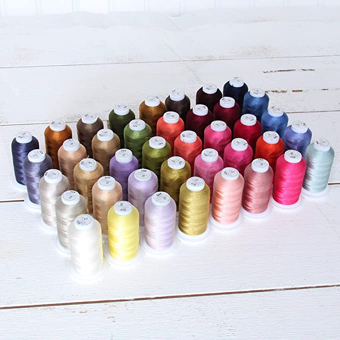 Embroidery Thread Selection Embellishment Yarn 56 Pebble Viscose Thread Colour No Hand Dyed Cotton Thread One Off Artisan Thread