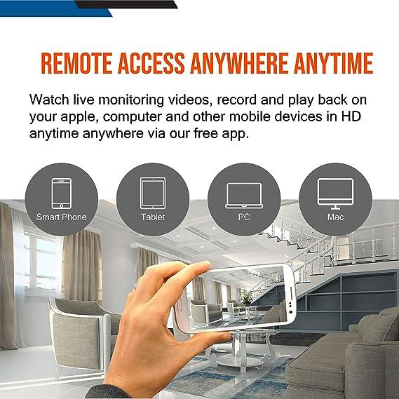 Amazon.com: Samsung WiseNet snk-b73040bw 4 canales de vídeo ...