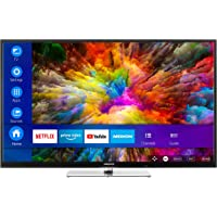 MEDION X14305 108 cm (43 Zoll) UHD Fernseher (Smart-TV, 4K Ultra HD, Dolby Vision HDR, Netflix, Prime Video, WLAN, HD Triple Tuner, DTS Sound, PVR, Bluetooth)