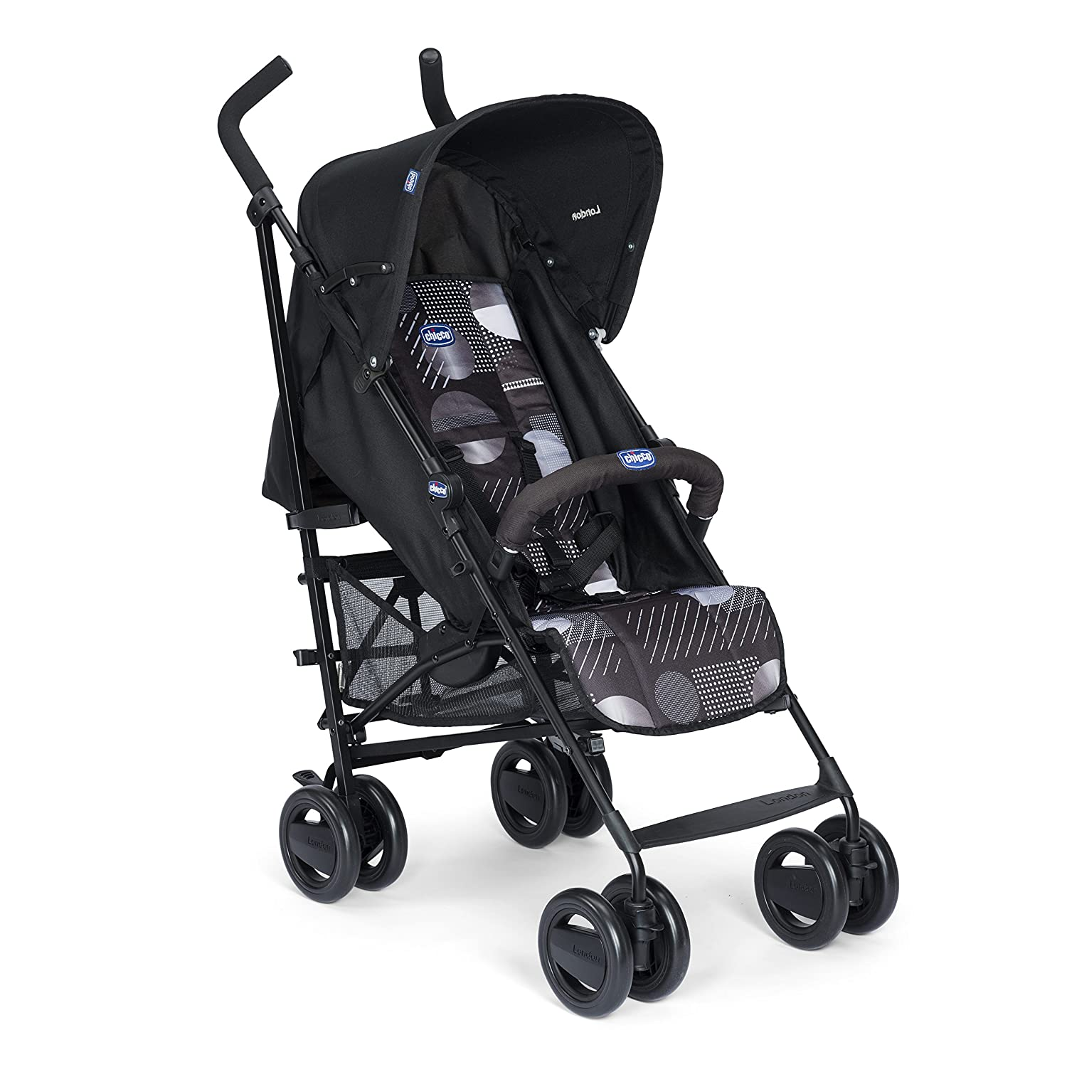 Chicco London Silla de paseo  kg compacta y manejable color negro