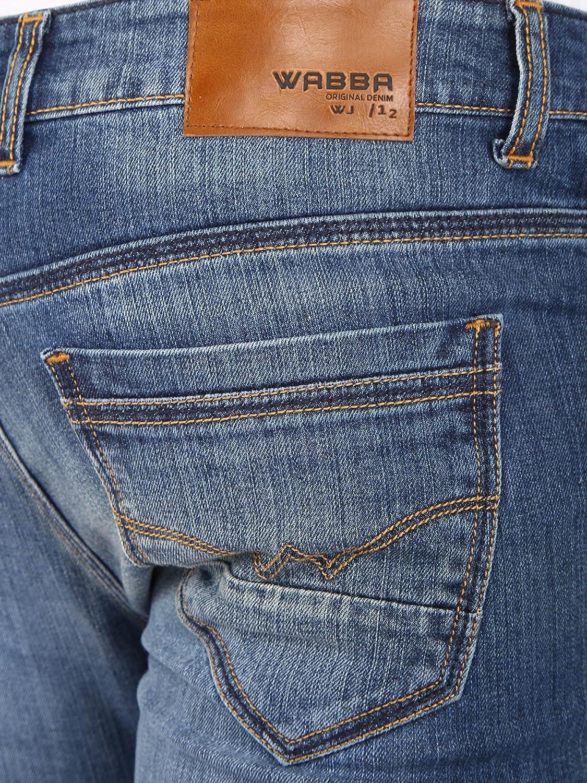Wabba Mens Stretch Slim Fit Jeans