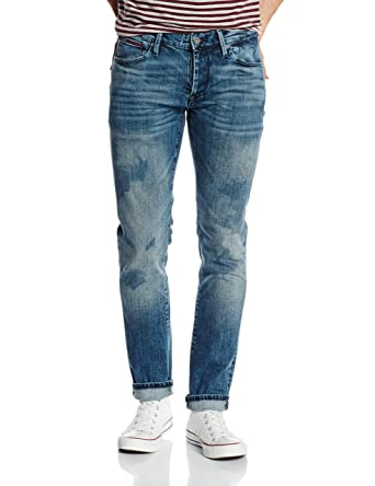 b549828c Tommy Jeans Men's Slim Scanton SIC Jeans, Blue (Splash Indigo Comfort), 29