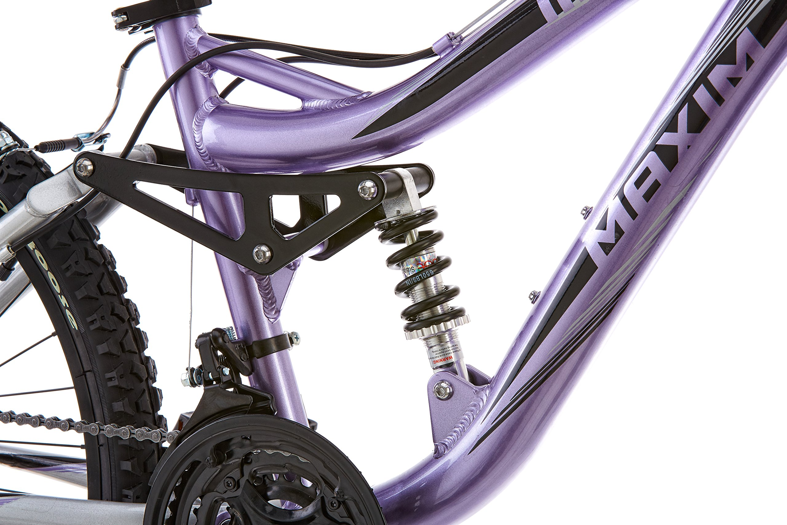 Mongoose Girl's Maxim Full Suspension Bicycle (24-Inch) by Mongoose (Image #4)