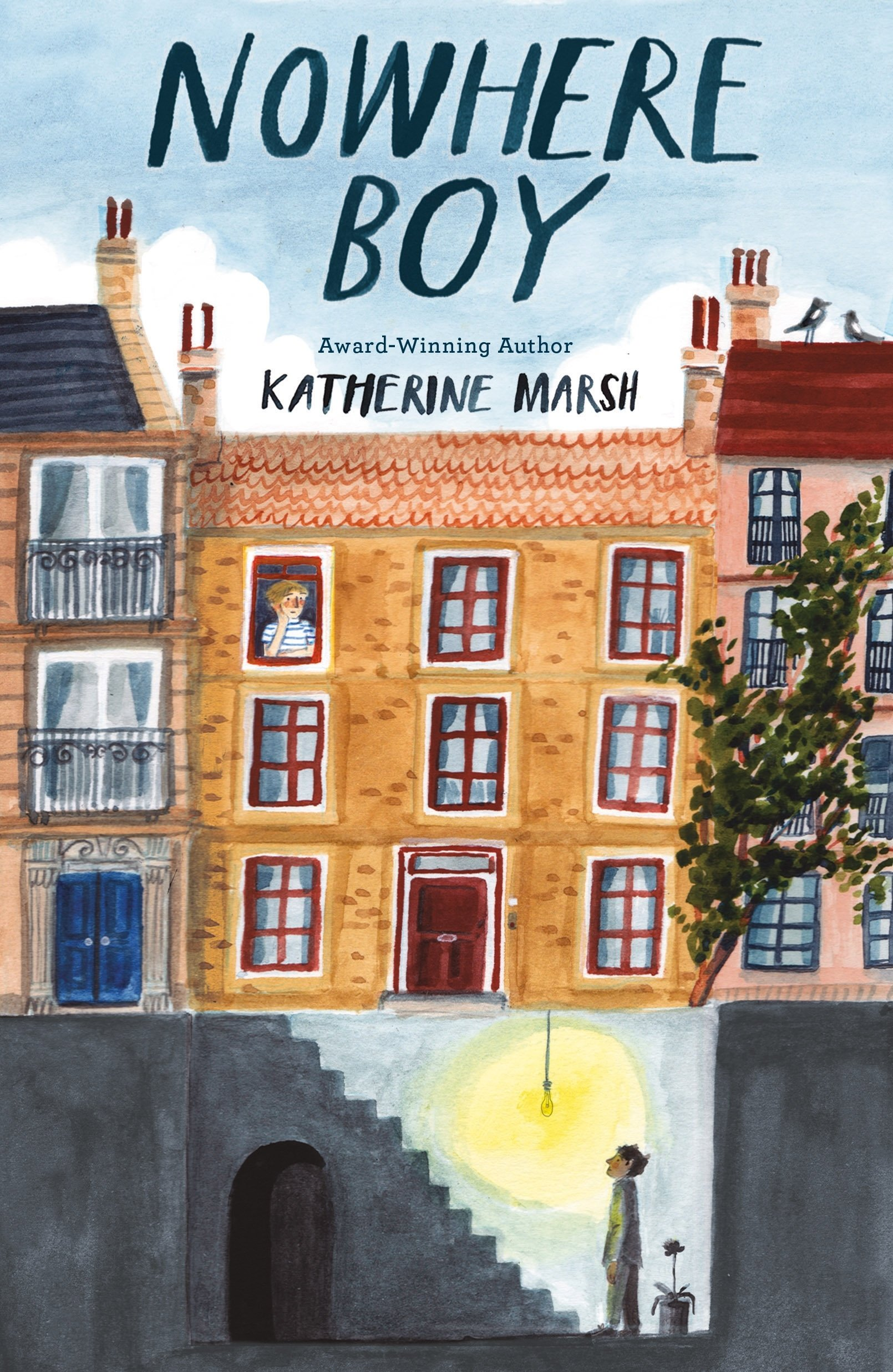 Cover art for the book entitled Nowhere Boy