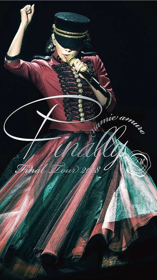 安室奈美恵 namie amuro Final Tour 2018 ~Finally~ カバー QHD(540×960)壁紙画像