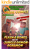 Flash and Bones and the Jungle Demon Agramon: The Greatest Minecraft Comics for Kids