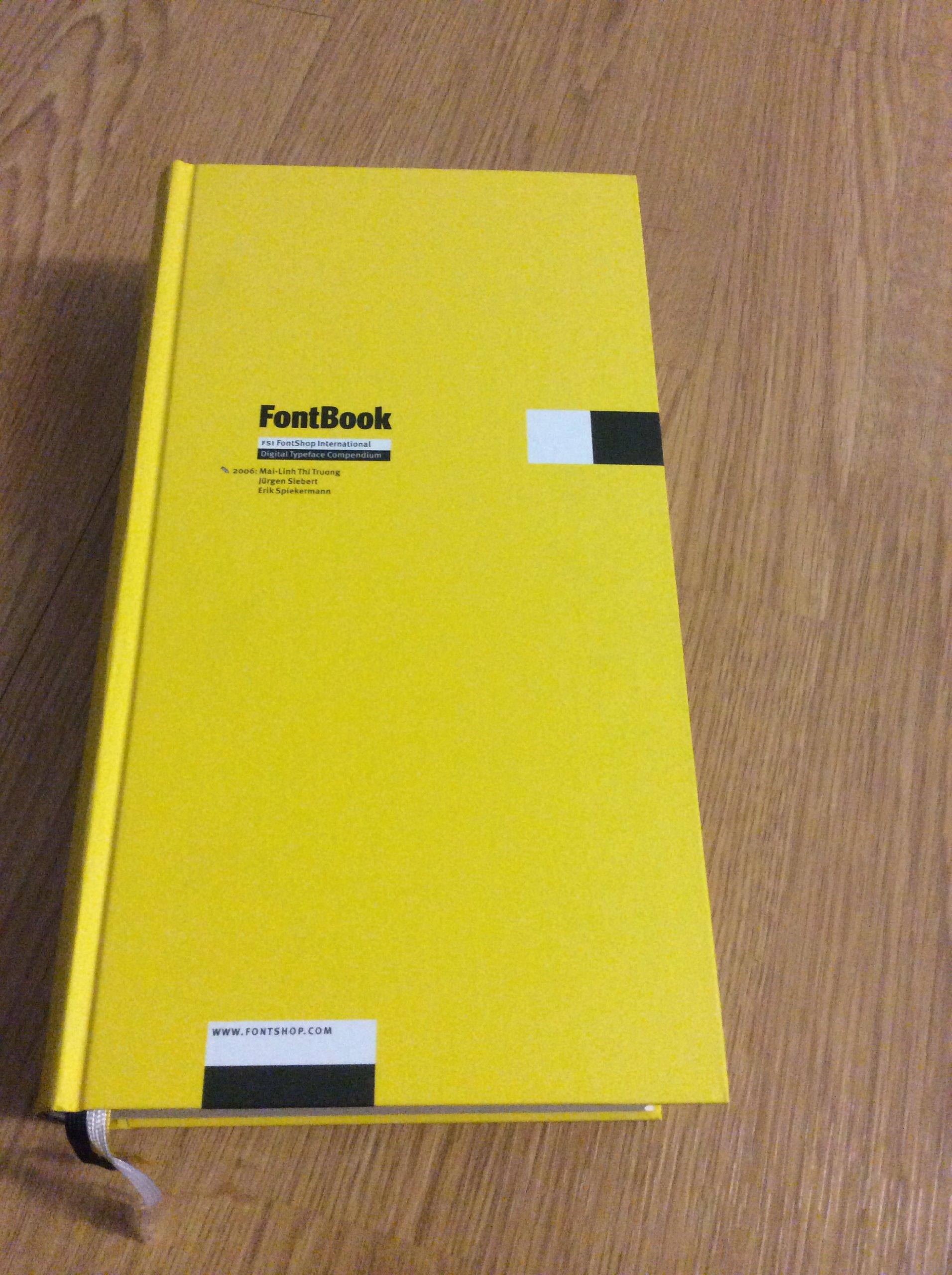FontBook 4: Digital Typeface Compendium