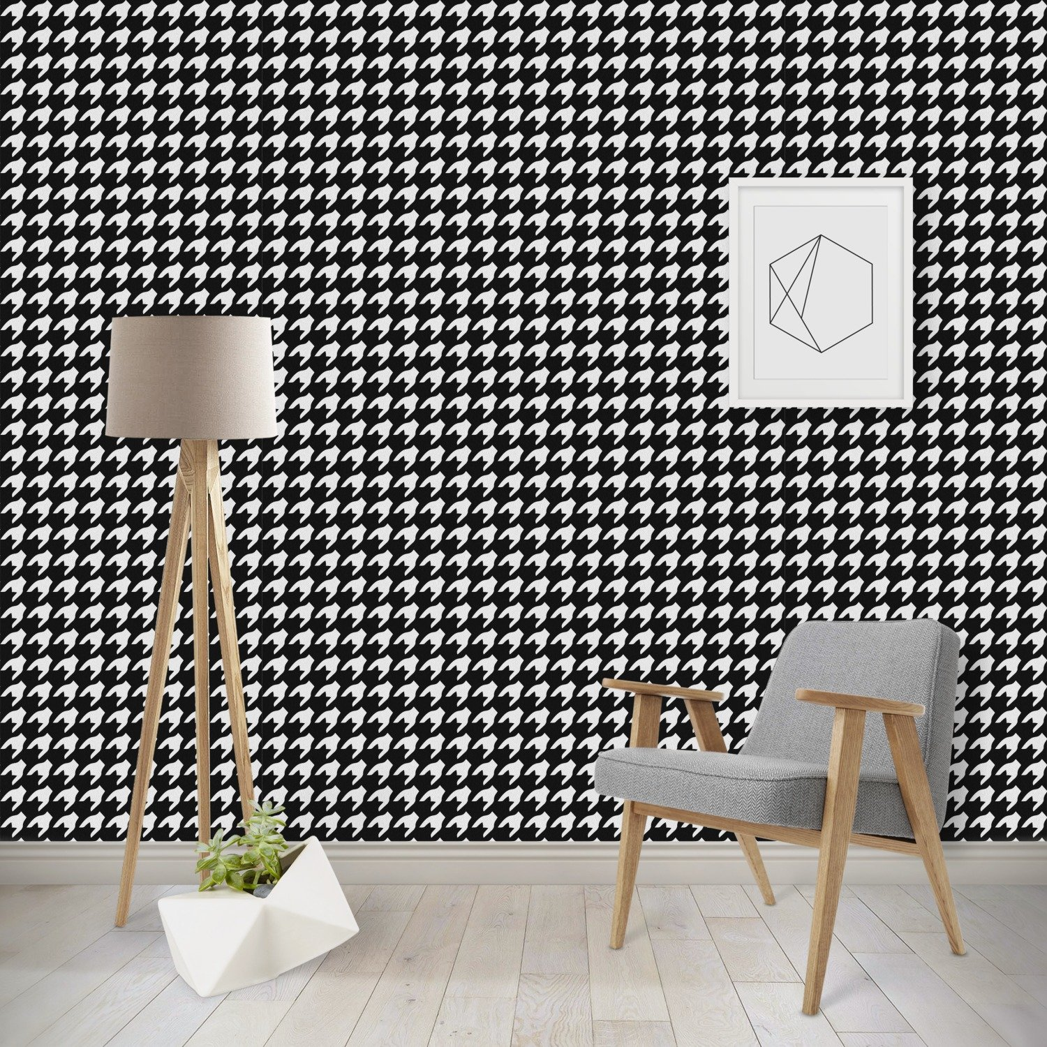 Amazon Houndstooth Wallpaper Surface Covering Water