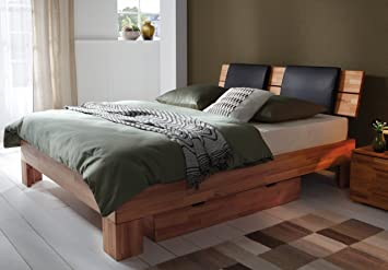 Stilbetten Bett Holzbetten Hasena Boxspringbett Jonas Buche Natur 140x200 Cm