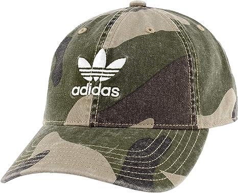 adidas Mens Originals Relaxed Strapback Gorro/Sombrero, AOP Camo ...